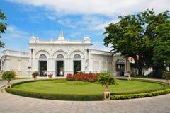 在轰隆痛苦王宫的泰国皇家住所 免版税库存图片