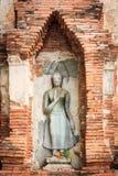 在轰隆Pa的雕象在宫殿 免版税库存照片