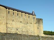 在轿车的城堡 免版税图库摄影
