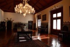 在辛特拉里面全国宫殿  图库摄影