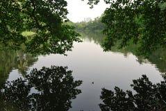在达卡中心的Ramna公园 免版税库存照片