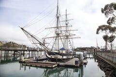 在达讷论点港口靠码头的香客风船 免版税库存图片
