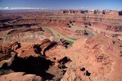 在过时的问题公园的峡谷 免版税库存照片