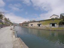 在运河 库存照片