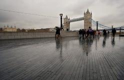 在这稀薄的雨中 免版税库存照片