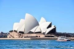 从在远处的悉尼歌剧院 免版税图库摄影