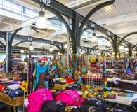 在迪凯特街上的法国市场在新奥尔良 库存照片