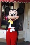 在迪斯尼乐园的米老鼠 库存照片