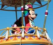 在迪斯尼的不可思议的王国的米老鼠 免版税库存图片
