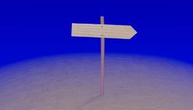 在迷宫的箭头尖 向量例证