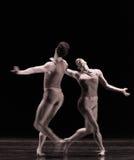 在追逐古典芭蕾` Austen汇集` 库存照片
