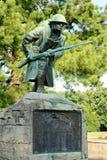 在退伍军人广场的第一次世界大战纪念品在孟菲斯 免版税图库摄影