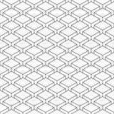 在透视的无缝的样式witheffect立方体 免版税图库摄影