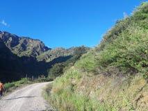 在途中向Rara湖, Mugu 库存照片