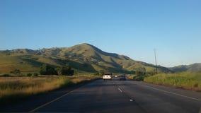 在途中的小山向洛杉矶 免版税库存图片