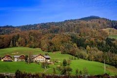 在途中的山向萨尔茨堡, 免版税库存照片