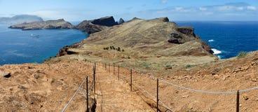在途中的断裂对Pico在马德拉岛做Furado 库存图片