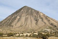 在途中的遥远的山对Jalapa在墨西哥 免版税图库摄影