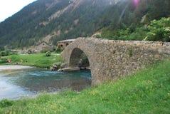 在道路的一座桥梁 库存图片