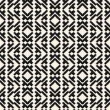 在部族种族样式的之字形几何无缝的样式 库存例证
