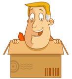在配件箱里面 免版税库存图片