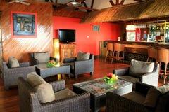 在酒吧的邀请的区域, Wananavu手段,在太阳海岸,斐济, 2015年 免版税库存图片