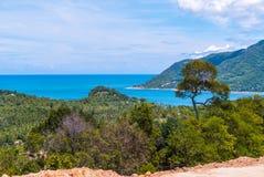 在酸值阁帕岸岛,泰国的海湾 免版税库存图片