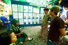 在酸值Chang海岛的市长的选择 库存图片