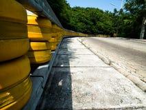 在酸值Larn的路 在芭达亚,泰国 免版税库存图片