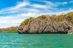在酸值Lipe海岛附近在泰国 库存图片