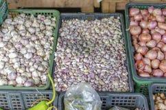 在酸值Phangan,泰国的集市日 免版税库存图片
