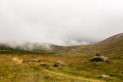 在里泽,土耳其使Kackar山环境美化看法  免版税库存照片