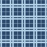 在重复的几何样式 织品印刷品 无缝的背景,马赛克装饰品,两种颜色种族的样式 免版税库存图片