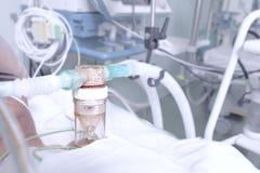 在重症监护病房 库存图片