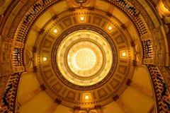 在金圆顶里面 免版税库存图片