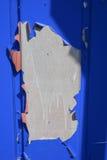 绘在金属的爆炸 免版税库存图片