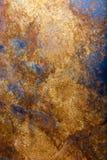 在金属的铁锈作为背景 库存照片
