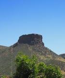 在金黄科罗拉多附近的桌山 库存照片