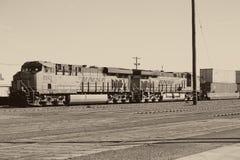 在针的铁路 免版税库存图片