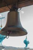 在钟楼的响铃 免版税图库摄影