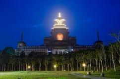 在钟Tai Chan修道院的视图 免版税库存照片