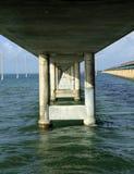 在钥匙的七英里桥梁 免版税库存照片