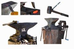 在铁匠铺 免版税图库摄影