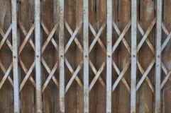 在铁板材的抽象铁锈纹理 图库摄影