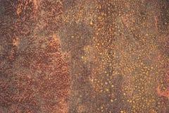 在铁纹理的铁锈 免版税图库摄影