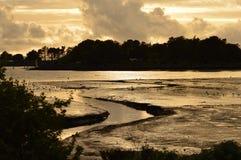 在铜的海湾 免版税库存图片