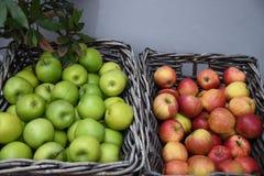 在销售中的苹果计算机果子在哥本哈根 库存照片