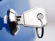 在锁定的关键字 库存图片