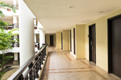在锋利的thechicago不可能验明的工作的所有区艺术corridore整个fous走廊旅馆图象少校 免版税库存照片