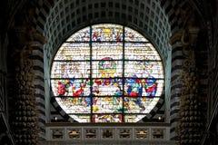在锡耶纳大教堂,锡耶纳,托斯卡纳,意大利的最后的晚餐 库存图片